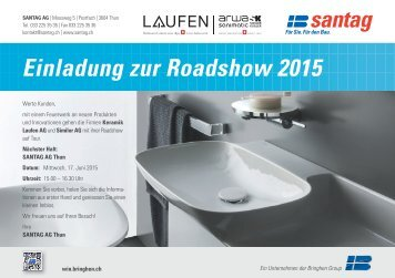 Einladung zur Roadshow 2015