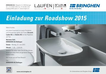 Bringhen Group: Einladung zur Roadshow 2015