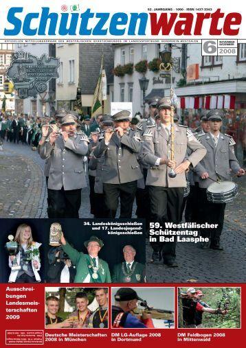 59. Westfälischer Schützentag in Bad Laasphe - Schützenwarte - WSB