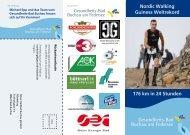 176 km in 24 Stunden Nordic Walking Guiness Weltrekord