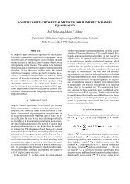 ADAPTIVE SUPER-EXPONENTIAL METHODS FOR BLIND ...