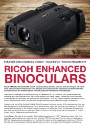 """RICOH ENHANCED BINOCULARS"" August 2013 - Security Systems"