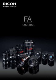 FA Kamera Katalog 2012 - Security Systems - Pentax