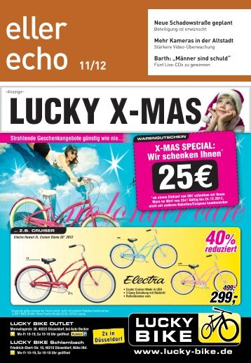 Wir schenken Ihnen - AZ Magazin Düsseldorf