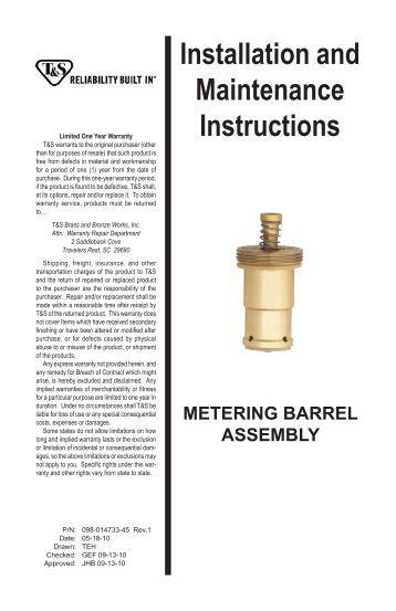 GTX/GTS Gas Turbine Meter Installation Instructions