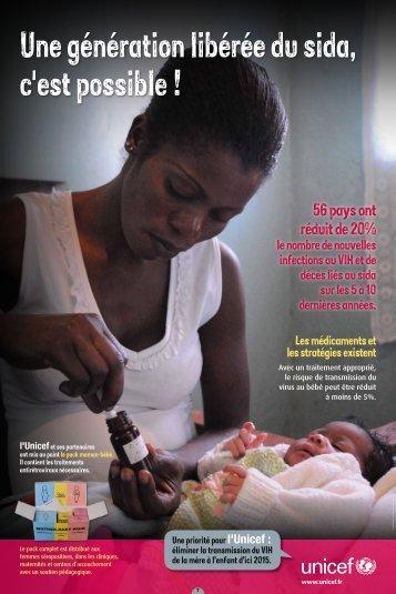 56 pays ont réduit de 20% - Unicef