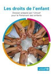 Les droits de l'enfant - Unicef