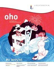 oho #2 - Das Magazin des Fürstentums Liechtenstein