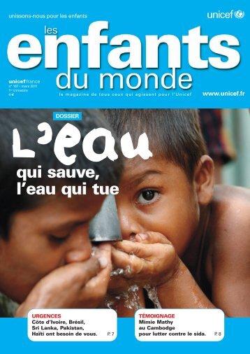 Les Enfants du Monde - Unicef
