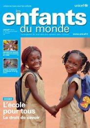 Téléchargez la revue - Unicef
