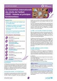 la convention internationale des droits de l'enfant (cide ... - Unicef