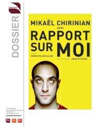 Téléchargez le dossier complet du spectacle - Théâtre Les Ateliers d ...