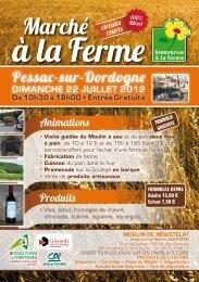 Pessac-sur-Dordogne - Bienvenue à la Ferme