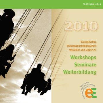 Workshops Seminare Weiterbildung - Ev ...