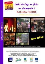 En Normandie, les Cafés de Pays sont en fête - Bienvenue à la Ferme