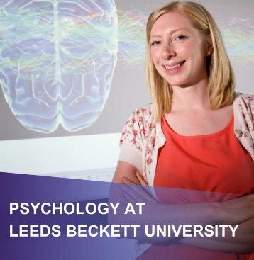 PSYCHOLOGY AT LEEDS BECKETT UNIVERSITY