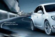 Opel Insignia OPC. La passion à l'état pur.