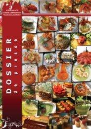 Télécharger le dossier de presse - L'atelier de cuisine gourmande