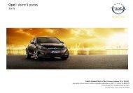 Tarif Astra 5 portes MY12 5 28_11_11 edition du 06_02_12 - Opel