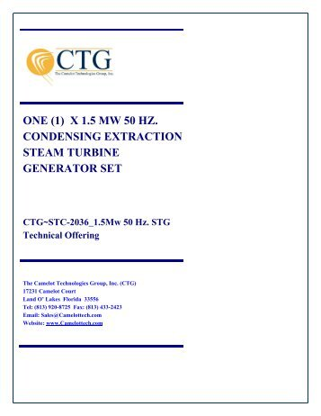 CTG~STC-2036 - Camelot Technologies Group