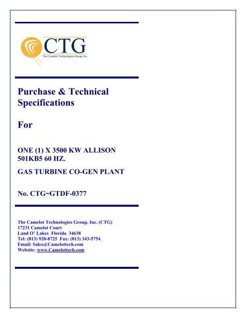 CTG-GTF-0325 11Mw Frame 5 D Gas Turbine Generator Set