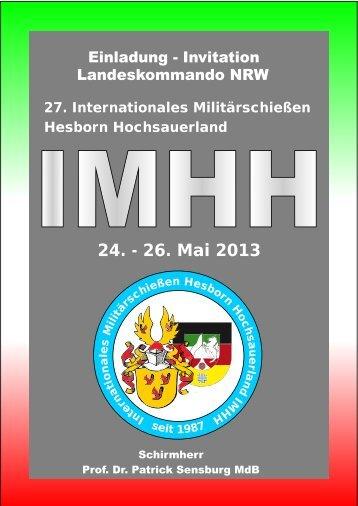 IMHH 2013 Anmeldung und Ausschreibung - Verband der ...