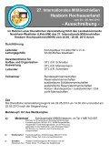 IMHH 2013 Anmeldung und Ausschreibung - Verband der ... - Seite 2