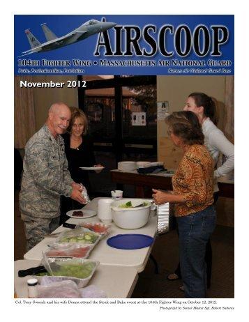 November 2012 - 104th Fighter Wing, Massachusetts Air National ...