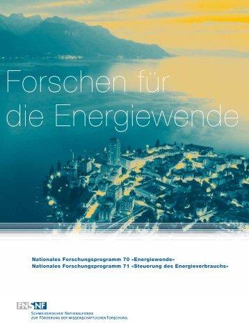 Forschen für die Energiewende