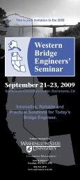 2009 - Western Bridge Engineers' Seminar