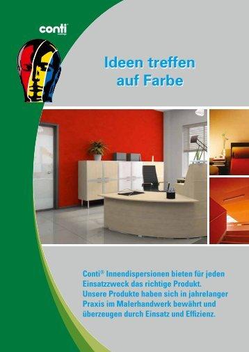 Kompetenz in Innenfarben - Conti® Coatings