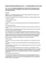 Koninklijk Besluit van 30 juni 1993 betreffende de stage voor ...