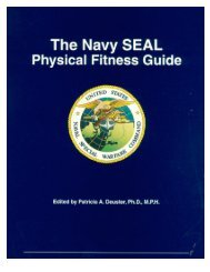 US Navy Seal - Fitness Guide - Lakeshore Swim Club