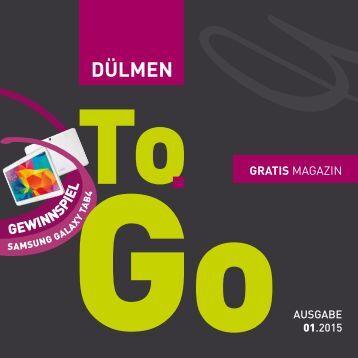 Dülmen To Go Frühjahr 2015