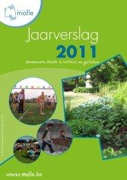 Jaarverslag 2011 - Gemeente Malle