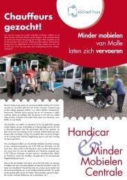 Minder Mobielen Centrale Handicar - Gemeente Malle