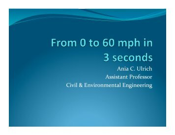 From 0 to 60 mph in 3 seconds