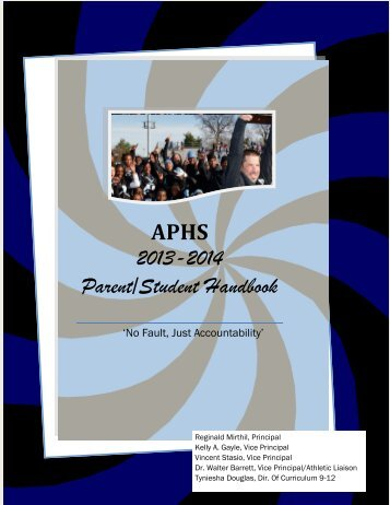 2013-2014 Parent/Student Handbook - Asbury Park School District