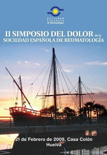 Programa Simposio - Sociedad Española de Reumatología