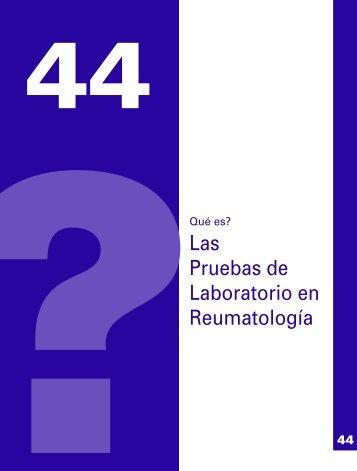 Las pruebas de laboratorio en Reumatología