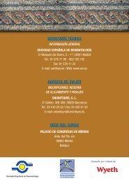 Programa del Curso - Sociedad Española de Reumatología