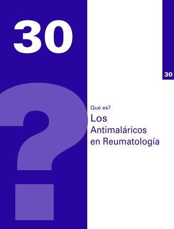 Antimaláricos en Reumatología