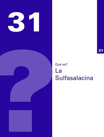 Qué es? La Sulfasalacina