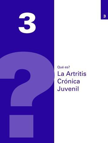 La Artritis Crónica Juvenil - Sociedad Española de Reumatología