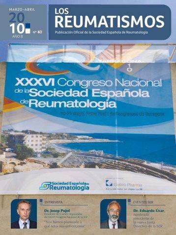reumatismos - Sociedad Española de Reumatología