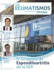 Espondiloartritis - Sociedad Española de Reumatología