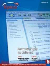 septiembre 2006 - Sociedad Española de Reumatología