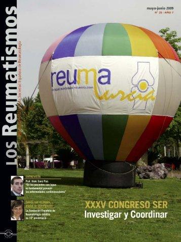 entrevista - Sociedad Española de Reumatología