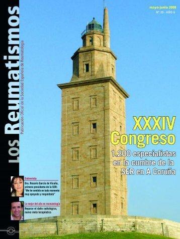 XXXIV Congreso de la SER - Sociedad Española de Reumatología