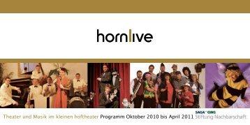 Theater und Musik im kleinen hoftheater Programm ... - ProQuartier